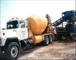 LITEBUILT® FOAM BEING INJECTED INTO CONCRETE TRUCK